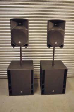 iPod PA Audio Hire Package