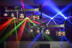 Lighting Smoke & Disco equipment hire